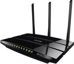Router TP-LINK Wireless, 4xports, black / ARCHERC5