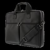 DELTACO klēpjdatoru soma 15,6 collu klēpjdatoriem, 6 kabatas, melnas