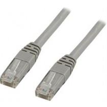 DELTACO U / UTP Cat6 patch cable, 0.75m, 250MHz, Delta-certified, LSZH, gray  TP-607