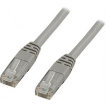 DELTACO U / UTP Cat6 patch cable, 0.3m, 250MHz, Delta-certified, LSZH, gray / TP-603