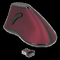 Ergonomisks vertikāls 5 pogas peles 2,4 GHz bezvadu