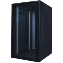 "TOTEN System A, 19 ""floor cabinet, 22U, 600x800, perforated front and rear doors, max 800 kg./ 19-AD6822PP"