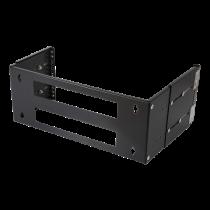 "Wall mount DELTACO 19"", black / 19-DTSR0204"