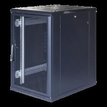 """TOTEN System G, 19 """"skapis, 18U, 600x1000, perforētas priekšējās durvis"""
