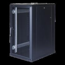 """TOTEN System G, 19 """"skapis, 22U, 600x1000, perforētas priekšējās durvis"""