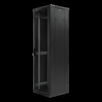 """TOTEN System G, 19 """"skapis, 42U, 600x600, perforētas durvis, spli"""
