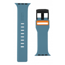 UAG Apple Watch 44mm / 42mm civilās siksnas šīferis / oranžs