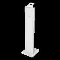 DELTACO OFFICE Grīdas statīvs ar pretaizdzīšanas korpusu iPad 9.7 / 10.2