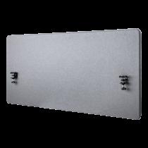 DELTACO birojs, 1200 (W) x600 (H) mm akustiskā darbvirsmas privātuma panelis