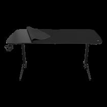 DELTACO GAMING DT320 rakstāmgalds, 1,6 m plats, regulējams augstums, galda peles paliktnis