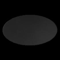 DELTACO GAMING DFP410 grīdas paliktnis, 110x110cm, melns