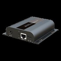 HDbitT HDMI, izmantojot IP CAT5 / 5e / 6 paplašinātāju ar RS232