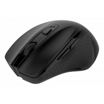 Deltaco bezvadu biroja pele, ergonomiska forma, klusie klikšķi, USB ierakstīšana