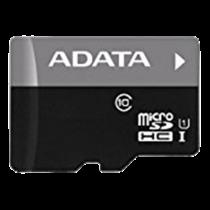 Memory card A-DATA Premier MicroSDHC, UHS-I Class 10, 32GB, 50 MB/s read, 10 MB/s write, SDA 3.0, black / ADATA-331