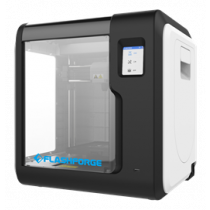 FlashForge Adventurer 3, 3D printer, wifi, uses 1.75mm PLA filament, black / white ADVENTURER3