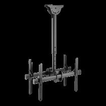 """DELTACO OFFICE Teleskopisks aizmugures-aizmugures LED / LCD griestu stiprinājums, 37-70 """","""