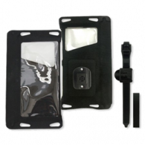 Waterproof fabric case with bicycle mount, IPX8, support for arms, TPU, black ARM-242