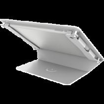 """Desk stand for 9.7 """"iPads, 125 tilt, aluminum, white / ARM-272"""