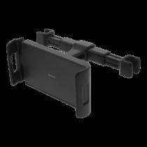 DELTACO galvas balstu stiprinājums tālruņiem un planšetdatoriem, ar 360 ° pagriešanu, melns