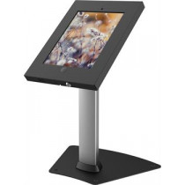 Lockable table stand for iPad 2/3/4 / Air / Air2, two keys, locking holes, aluminum and steel EPZI ARM-428