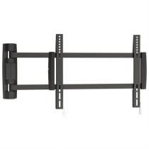 "Wall mount EPZI up to 42"" and 25kg, Vesa 400x400 aluminum black / ARM-526"