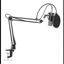 MAONO Podcasting mikrofona komplekts, mikrofons, neprasa fantoma padevi