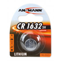 Ansmann CR1632 litija akumulators, 3V