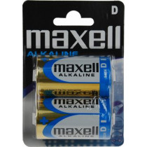 Maxell galvanizators, D (LR20), sārmains, 1,5V, 2 iepakojumi
