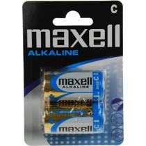 Maxell galvanizators, C (LR14), Alkaline, 1,5V, 2-pack
