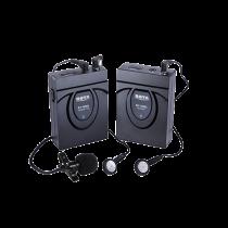 Wireless system with microphone BOYA 2.4 GHz GFSK, black / BY-WM5 / BOYA10017