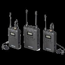 Microphone system BOYA wireless, dual-channel UHF, black / BY-WM8 / BOYA10019