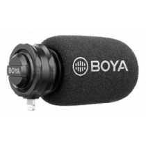 Lightning digital stereo microphone, cardioid, gray / black BOYA BY-DM200 / BOYA10078