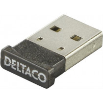 Bluetooth nano adapter DELTACO USB 2.0, black / BT-118