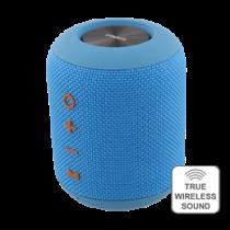 STREETZ Waterproof Speaker, TWS, 2x5W, IPX5, Bluetooth 4.2, Blue / CM758