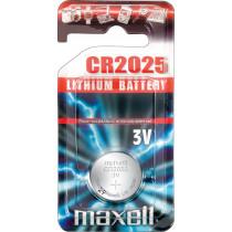 Maxell knappcellsbatteri litija, 3V (CR2025), 1 iepakojums