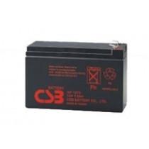 Lead acid battery 12V 7.2Ah F2 Pb CSB  CSB-GP1272