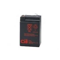 Lead acid battery 6V 4.5Ah F1 Pb CSB CSB-GP645