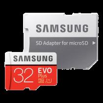 Memory card Samsung Micro SDHC Evo plus with adapter, 32GB / DEL1008501