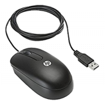 HP Optical Scroll Mouse, USB, Black DC172B / DEL1009640