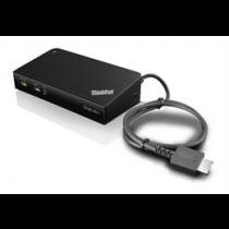 Lenovo ThinkPad OneLink + Dock, USB-A 3.1 Gen 1 dock / port replicator Lenovo black / DEL1009950