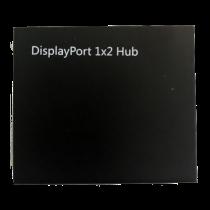 DisplayPort Splitter, 2x DP Outputs, 4K, 3D, DP 1.2, Black  /DP-913