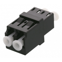 DELTACO Snap-in šķiedru savienojuma uzmava, 2xLC-LC, Single mode, duplex, blu