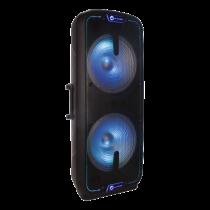 N-GEAR FLASH 3010 portable speaker, 800W, Powerbank function, black / RGB / FLASH-3010