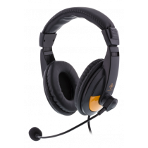 DELTACO GAMING headphones, black / GAM-012