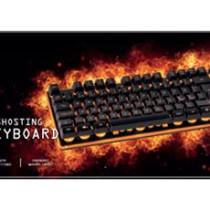 DELTACO GAMING keyboard with LED, black / GAM-021UK
