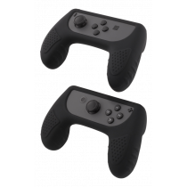 DELTACO GAMING silicone controller GRIPS for Nintendo Switch Joy-Con, black / GAM-032