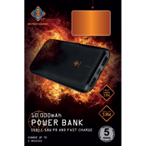 G53PD + QC PB 10000mAh melns