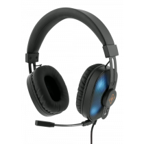 DELTACO GAMING Stereo galvas, RGB, 2 x 3,5 mm