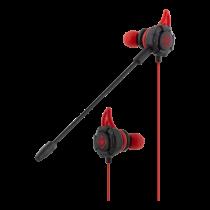 DELTACO GAMING Austiņas ar austiņām ar noņemamu mikrofonu un ausīm