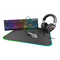 DELTACO GAMING 4-in-1 RGB KIT, UK layout